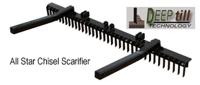 All Star Chisel Scarifier